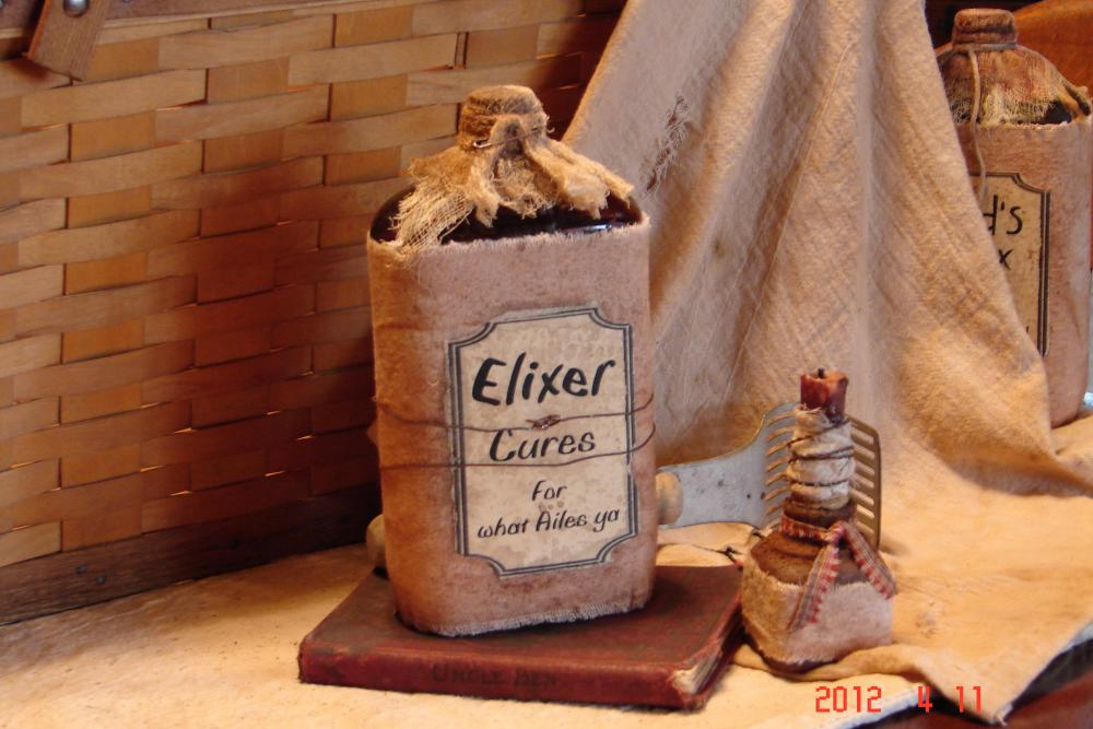 Primitive Elixer Bottle